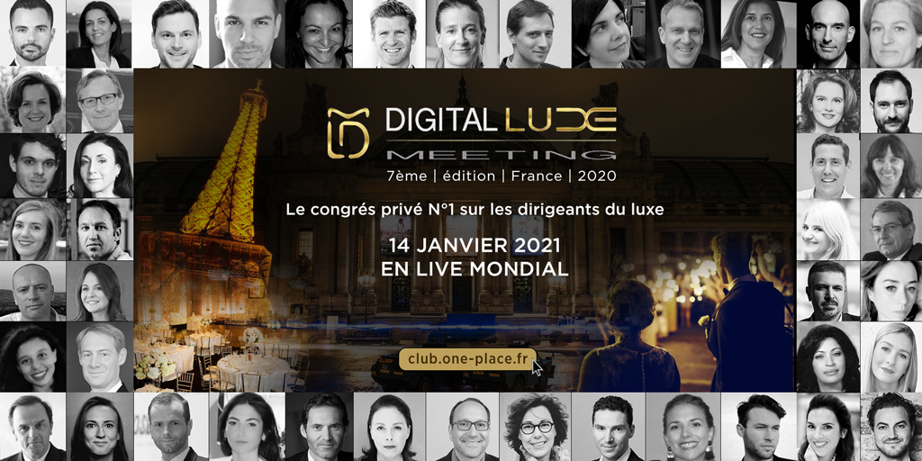 2020 DLM PARIS 14 janvier 1024 - DIGITAL LUXE MEETING FRANCE 2021